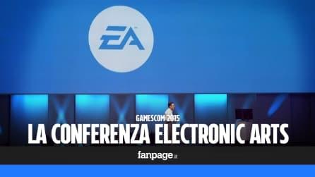 Gamescom 2015, le novità annunciate alla conferenza Electronic Arts
