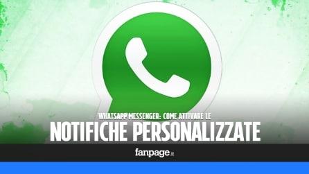 Come attivare le notifiche personalizzate per ogni contatto su WhatsApp