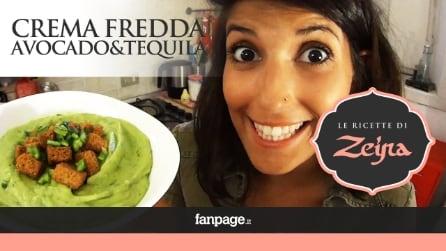 Crema Fredda Avocado e Tequila, la ricetta della zuppa estiva sudamericana