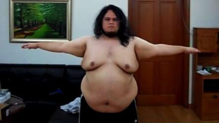 Perde oltre 200 kg: l'incredibile trasformazione di Jon
