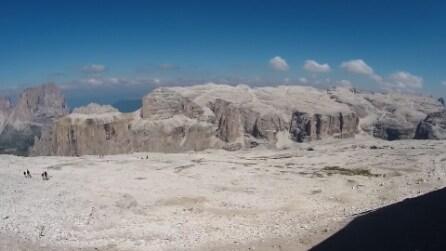 11 agosto 2015 Pordoi-Piz Boè Panorama dal Rif Maria 2953 2