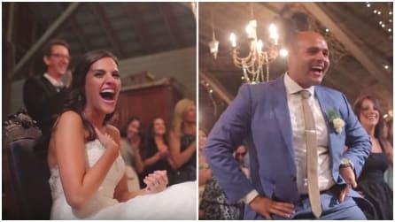 Il giorno del matrimonio prepara una sorpresa indimenticabile a sua moglie