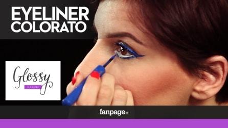 Come realizzare un Eyeliner Colorato, per uno sguardo vivace e glamour