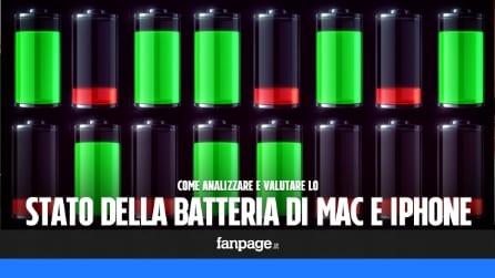 Come valutare lo stato della batteria di Mac e iPhone