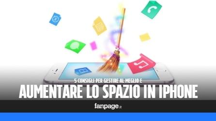 Come aumentare e gestire lo spazio libero in iPhone, iPad e iPod Touch