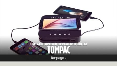 Tompac, l'invenzione napoletana per ricaricare il cellulare finanziata dal web