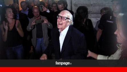 """Roma festeggia i 90 anni del papà di Montalbano. Camilleri: """"Questo affetto mi commuove"""""""