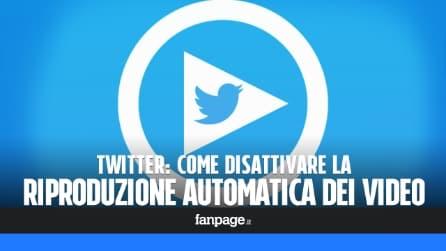 Twitter: come disattivare i video automatici
