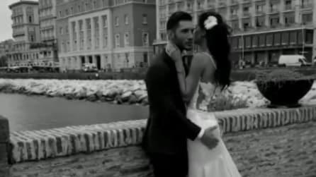 Stefano De Martino a Napoli palpa il sedere di Belen Rodriguez
