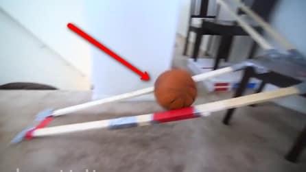 Dove andrà a finire questa palla? Il percorso che farà è da non credere