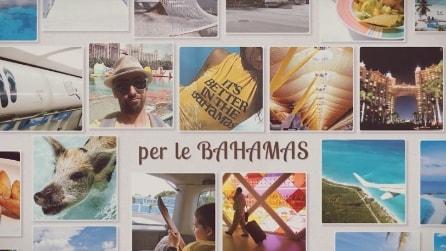 """Ha detto a tutti: """"vado in vacanza alle Bahamas"""" ma dietro quelle foto c'è un piccolo segreto"""