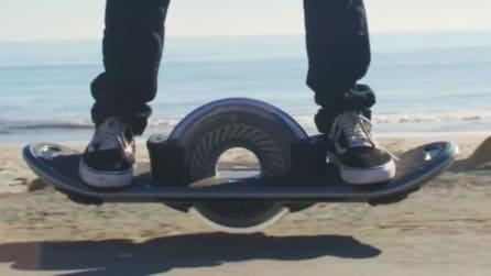 Lo skateboard mai visto prima d'ora: ecco l'invenzione rivoluzionaria
