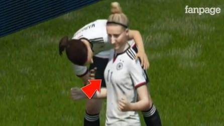"""FIFA 16 e quell'esultanza """"hot"""" tra le calciatrici della nazionale tedesca"""
