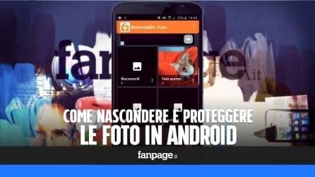 Come nascondere e proteggere le foto in Android