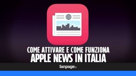 Come attivare Apple News di iOS 9 anche in Italia