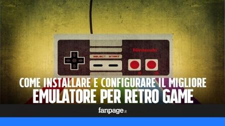 Giocare al migliore emulatore per retro game in TV e con il gamepad di PS4