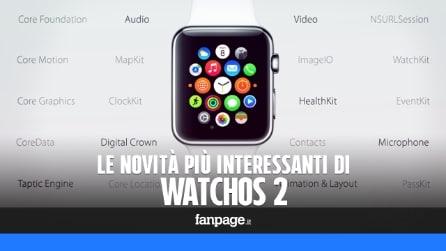 Le novità di WatchOS 2, il nuovo aggiornamento di Apple Watch