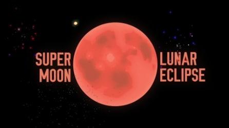 Così la luna diventerà grande e rossa tra il 27 e il 28 settembre 2015
