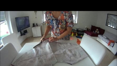 Easy way to make a jacket