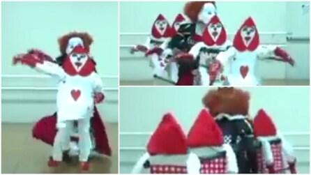 Un vero fenomeno: il ballo che non avete mai visto