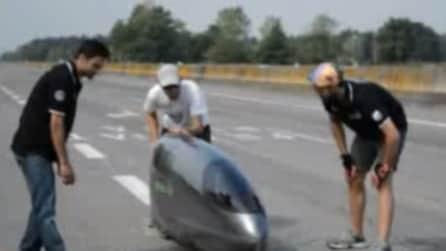 """La """"bici"""" che sfreccia a 117 km/h: ecco il prototipo del Politecnico di Torino"""
