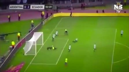 L'Ecuador segna contro l'Argentina e il cronista piange di gioia