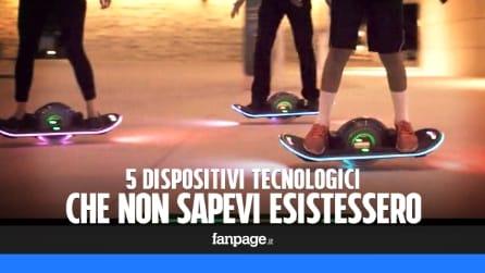 5 gadget tecnologici dei quali non eri a conoscenza - Puntata 20