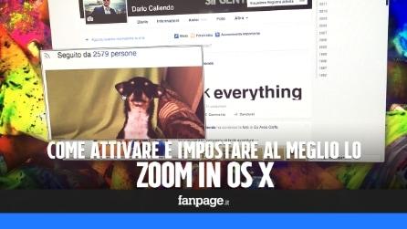 Attivare e personalizzare lo Zoom in OS X El Capitan
