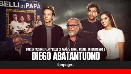 """'Belli di papà' - Abbatantuono: """"Anche se non firmo le sceneggiature, c'è un po' di me in ogni film"""""""