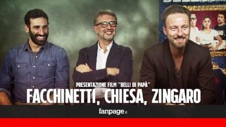 """'Belli di papà' - Facchinetti: """"Anch'io sono stato un 'coglione' come il protagonista del film"""""""