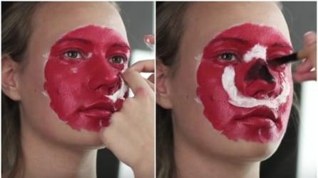 Disegna un cerchio rosso sul suo viso: il risultato è da non credere