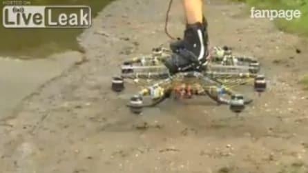 Sale in piedi sul drone: un'esperienza unica!