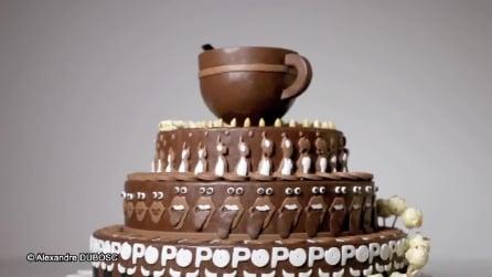 A prima vista sembra una torta come tutte le altre: invece è un dolce speciale