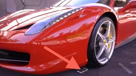 Schiaccia un iPhone 6S con una Ferrari: incredibile quello che succede al cellulare