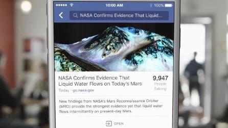 Facebook aggiorna il motore di ricerca: tutte le novità