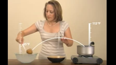La patata passa dall'acqua bollente a quella ghiacciata: il motivo vi semplificherà la vita
