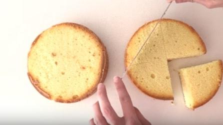 Taglia la torta in questo modo e realizza qualcosa di incredibile