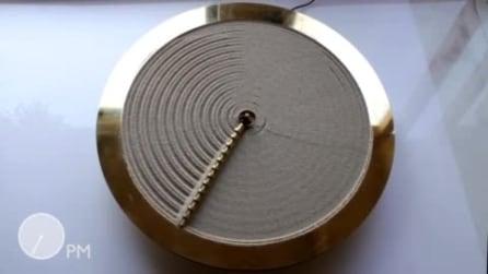 L'orologio di sabbia: ecco cosa accade quando girano le lancette!