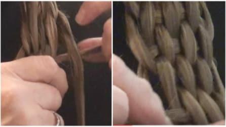 Intreccia i capelli in questo modo: il risultato finale vi sbalordirà