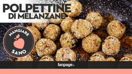 Video ricetta Polpettine di melanzane vegetariane