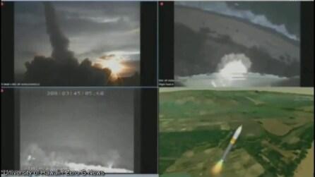 Il razzo ruota su se stesso e si distrugge: il lancio è un fallimento