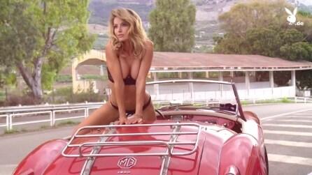 Sarah Valentina Winkhaus si spoglia: scatti hot per Playboy