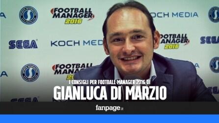 """Football Manager 2016, Gianluca Di Marzio: """"Uno strumento per trovare nuovi talenti"""""""