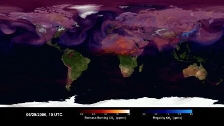 La mappa della NASA che rivela i paesi più inquinati del mondo