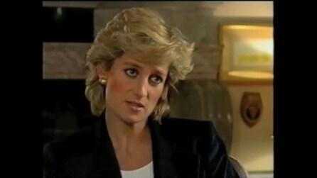 """Lady Diana nell'intervista del 20 novembre 1995: """"Il mio matrimonio era affollato, eravamo in tre"""""""