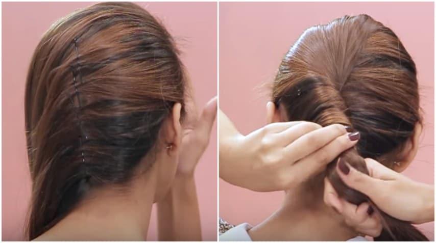 Arrotola i capelli in questo modo: la pettinatura perfetta ...