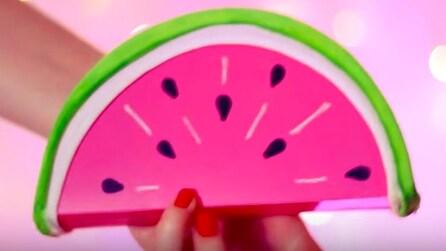 Come realizzare una pochette a forma di anguria: l'idea molto originale
