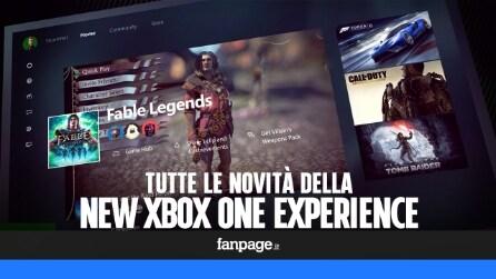 Nuova dashboard Xbox One: tutte le novità in arrivo con l'aggiornamento del 12 novembre