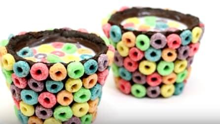 Ecco come creare delle tazzine di cioccolata con i biscotti Oreo