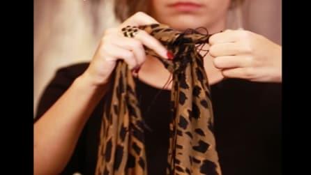 11 modi per annodare ed indossare una sciarpa da donna